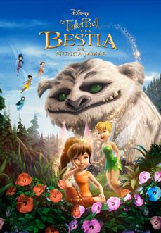Tinker Bell y la bestia de Nunca Jamás