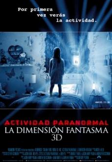 Actividad Paranormal La Dimensión Fantasma