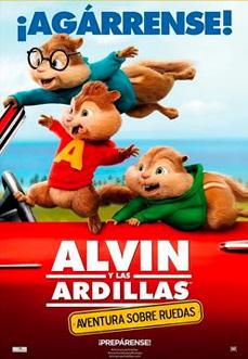 Alvin y las Ardillas Aventuras sobre Ruedas