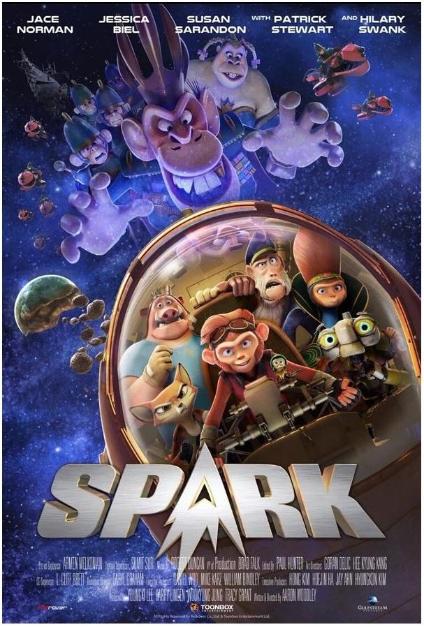 Spark Un Mono Espacial